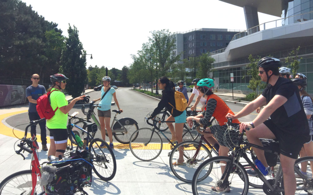Allston Brighton Sustainable Bike Tour 2017
