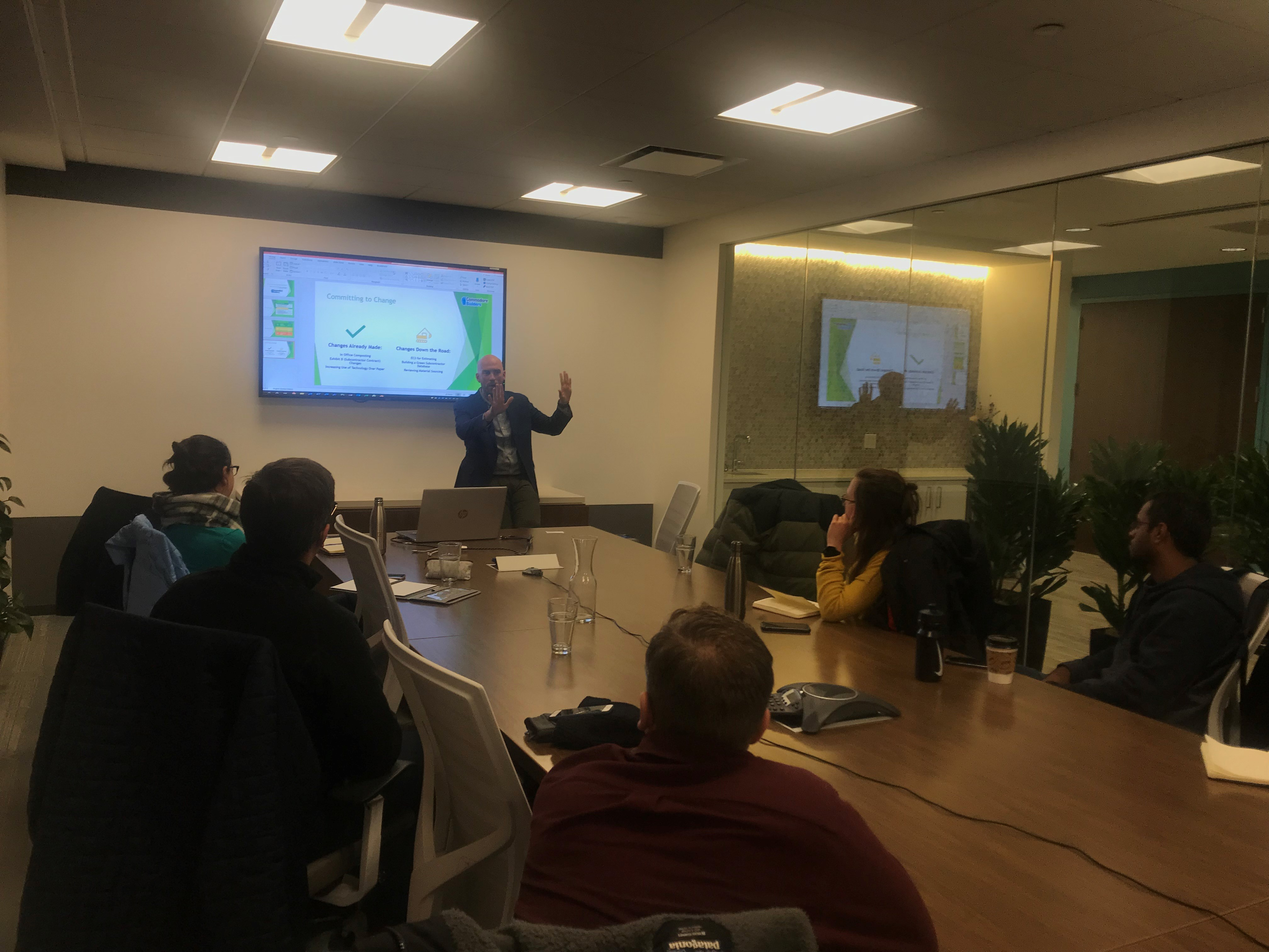 Michael presents at the November 2019 Emerging Professionals of Massachusetts meeting